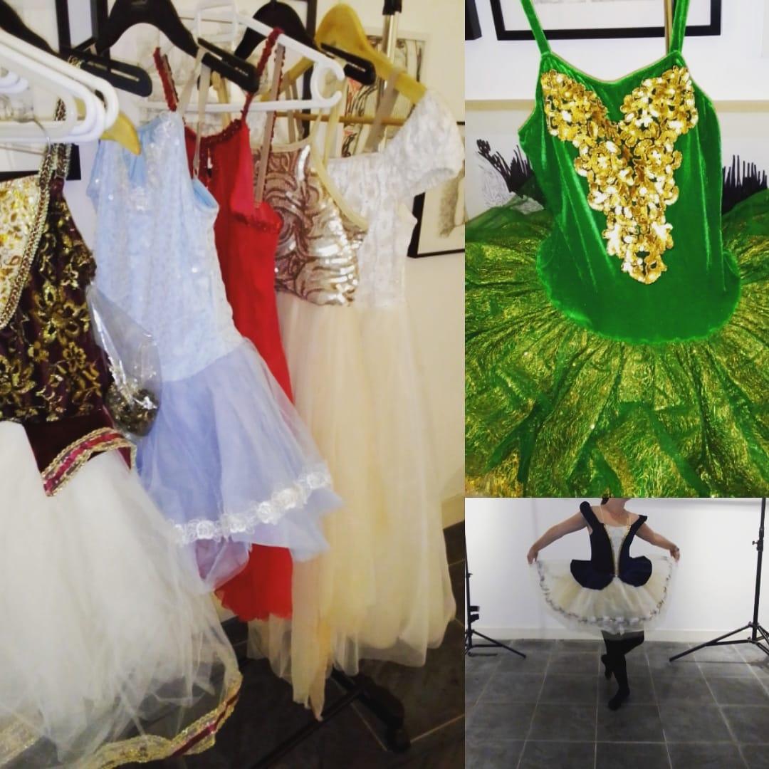 Des robes, des tutus, une danseuse