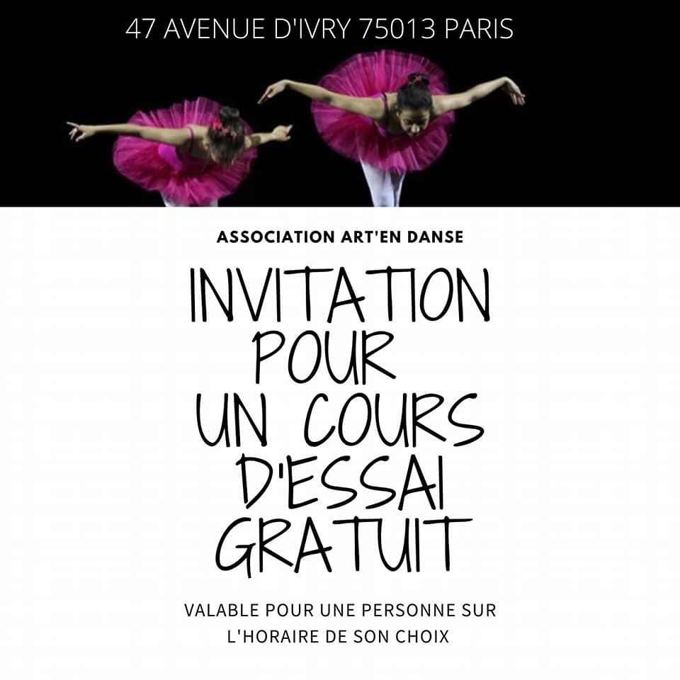 un carton d'invitation